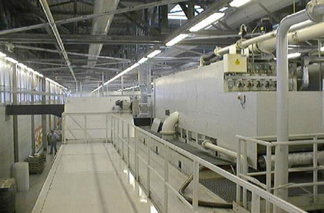 汽车发动机加工车间集中过滤系统