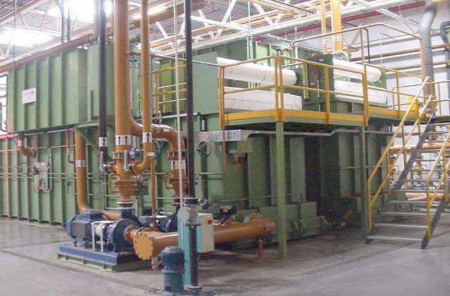 汽车发动机缸体、缸盖车间集中过滤系统